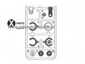 TXT-1 Części X Tamiya 0225072