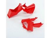 Bruder 43654 Czerwone elementy betoniarki