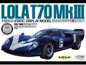 1/12 Lola T70 MkIII + elementy fototrawione Tamiya 12043