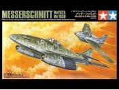 1/100 Messerschmitt Me262A + Me163B Tamiya 61604