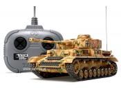 Czołg Panzerkampfwagen IV Ausf.J 1:35 + aparatura Tamiya 48206