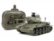 Czołg T-34-85 2,4GHz Infrarot-Battle System Tamiya 48210