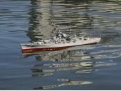 Zdalnie sterowany pancernik Bismarck - RC ARR Carson 500106001