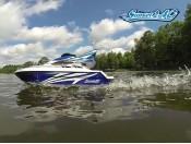 Zdalnie sterowany jacht motorowy Sunset - RC 100% RTR Carson 500108013