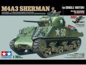 1/35 US Medium Tank M4A3 Sherman z silnikiem Tamiya 30056