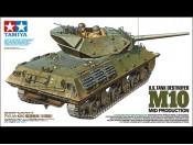 1/35 US Tank Destroyer M10 mid. Prod. Tamiya 35350