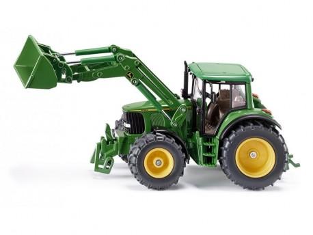 Traktor John Deere z ładowaczem Siku 3652