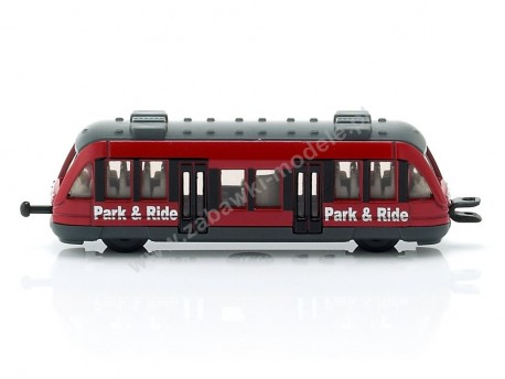 Wagon pociągu podmiejskiego