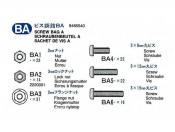 MB 1859L 56307 - Części BA metal Tamiya 19465540