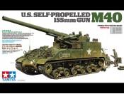 1/35 US Self-Propelled 155mm Gun M40 Tamiya 35351