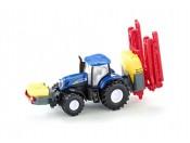 Siku 1799 Traktor New Holland T7070 z opryskiwaczem 1/87