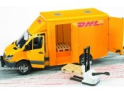 Bruder 02534 MB Sprinter DHL z podnośnikiem