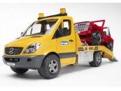 Bruder 02535 MB Sprinter pomoc drogowa + Jeep i sygnalizacja Seria Profi