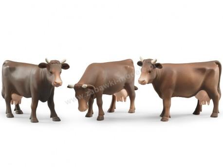 Bruder 02308 Figurki krowy w trzech pozach