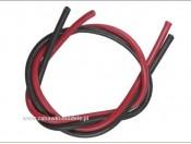 Kable 18 AWG Avionics czarny/czerwony 2x20cm Team Orion ORI62500