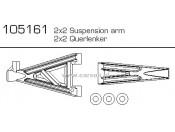 CV-10B/T Wahacze 2 x (2) Carson 500105161