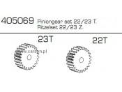 Zębatki 22/23T CE-10 Carson 500405069