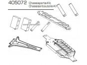 CE-10 Elementy podwozia - zestaw Carson 500405072