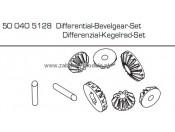CV-10 Zębatki stożkowe dyferencjału Carson 500405128