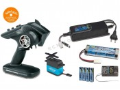 Aparatura Reflex Wheel Pro 2,4GHz - kompletny zestaw Carson 500500513