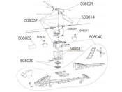 Apache AH-64 - Silniki Carson 500508031