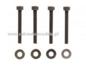 Śruby 2,6x20mm do kół GB-01/GT-01 (4) Tamiya 40117