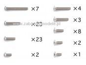 GT-01 Zestaw śrub tytanowych M2,6 Tamiya 40550