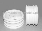 Felgi 1:10 NDF-01 białe (2) Tamiya 0004251