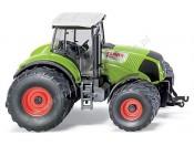 Traktor Claas Axion 850 z podwójnymi kołami