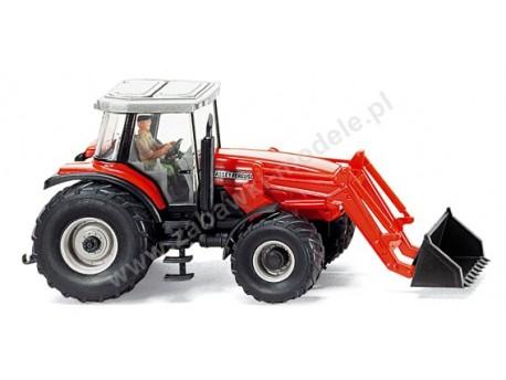 Traktor Massey Ferguson MF 8280 z ładowarką czołową